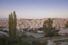 Volcanic Tuff of Cappadocia Stock Images
