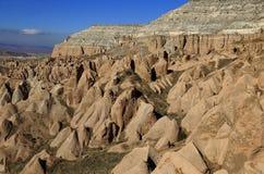 Volcanic valley, Cappadocia Royalty Free Stock Photo