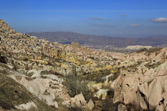 Volcanic valley, Cappadocia Royalty Free Stock Image