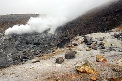 Volcanic vent Stock Images