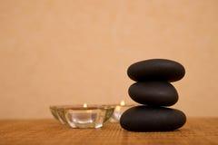 Volcanic zen stones Stock Images