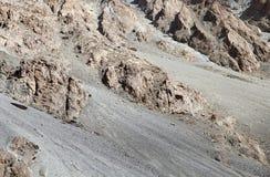 Volcanics rock exposure in Ladakh Stock Photos