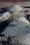 Volcanisme de poteau Images libres de droits