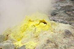 The volcano. Activity of the extinct volcano Stock Photo