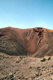 Volcano. A volcano in Timanfaya Lanzarote Royalty Free Stock Photography