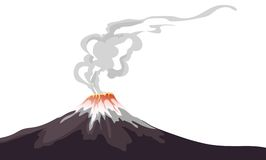 Volcano Royalty Free Stock Photos
