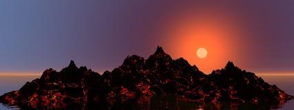 Volcano Royalty Free Stock Photography