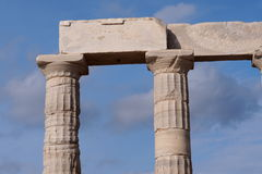 Volcano. Acropolis in Greece shows a great history of them Royalty Free Stock Photo