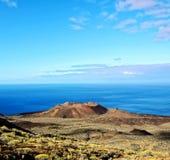 Volcano Aerial View lizenzfreies stockfoto