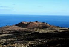 Volcano Aerial View stockfotografie