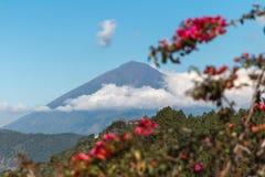 Volcano agung. Bali volcano agung batur landscape Royalty Free Stock Photo