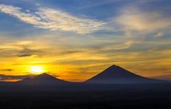 Volcano Agung Stock Image
