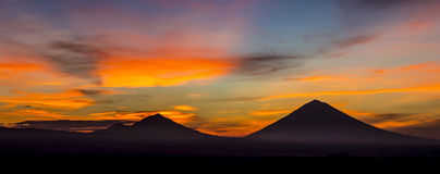Volcano Agung Royalty Free Stock Image