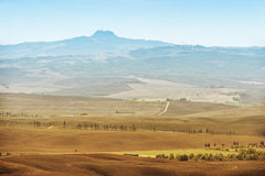 Volcano Amiata Tuscany Royalty Free Stock Photos