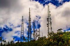 Volcano antennas Royalty Free Stock Image