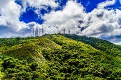 Volcano antennas 2 Stock Photography