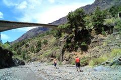 Volcano Area sulla La Palma dell'Isole Canarie Fotografia Stock