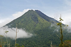 Volcano Arenal in Costa Rica Royalty Free Stock Photos