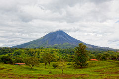 Volcano Arenal, Costa Rica Royalty Free Stock Image