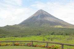 Volcano Arenal in Costa Rica Stock Images