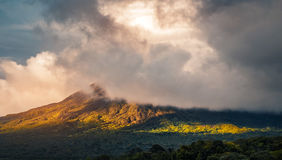 Volcano of Arenal Royalty Free Stock Image