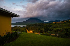 Volcano of Arenal Stock Images