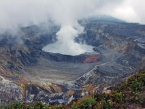 Volcano-Arenal La Fortuna Costa Rica Royalty Free Stock Photography