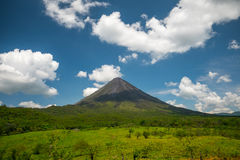 Volcano of Arenal Stock Image