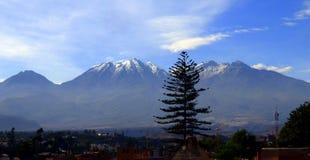 Volcano Arequipa Royalty-vrije Stock Afbeelding
