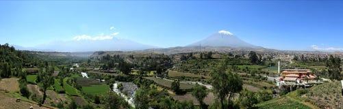 The Volcano around Arequipa Stock Photos