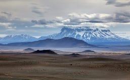 Volcano Askja - Iceland Royalty Free Stock Image