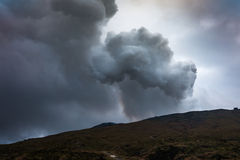 Volcano in Aso Stock Photos