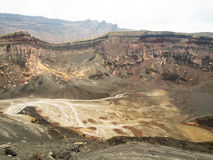 The volcano Aso Stock Photography