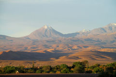 Volcano in Atacama, Chile stock photography