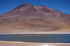 Volcano, Atacama Desert, Chile Royalty Free Stock Images
