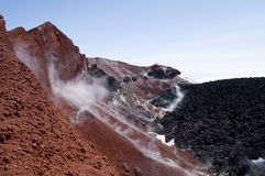 Volcano Avacha Stock Photography