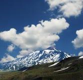 Volcano Avachinskaja on Kamchatka Stock Photography