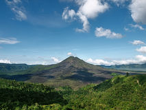 Volcano at Bali Royalty Free Stock Photos