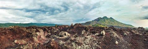 Volcano Batur royalty free stock photo