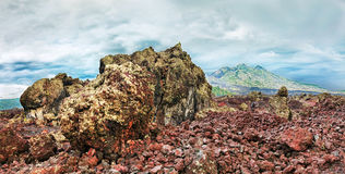 Volcano Batur Royalty Free Stock Photography