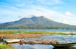 Volcano Batur Royalty Free Stock Images