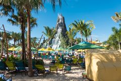 Volcano Bay, Orlando, Florida. Royalty Free Stock Image