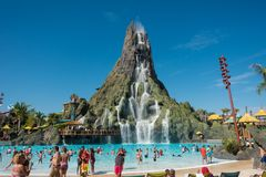Volcano Bay, Orlando, Florida. Stock Photo