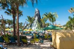 Volcano Bay, Orlando, la Floride image libre de droits