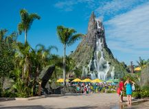 Volcano Bay Water Park Royalty Free Stock Image