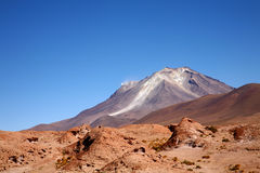 Uturuncu Volcano, Bolivia. A volcano in the Bolivian Andes mountain range Stock Photography