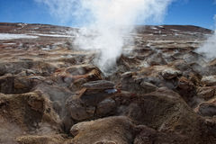 Volcano. Bolivia - the most beautifull Andes in South America Royalty Free Stock Photography