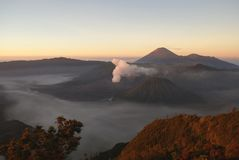 Volcano Bromo, Indonesia Royalty Free Stock Photo