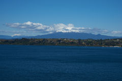 Volcano Calbuco - Puerto Varas - Chile Royalty Free Stock Images
