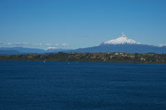 Volcano Calbuco - Puerto Varas - Chile Royalty Free Stock Photo